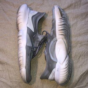 Nike Free RN 5.0 Grey Men's Running Shoe